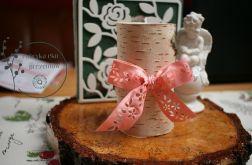Świeczniki drewniane brzozowe,rustykalne