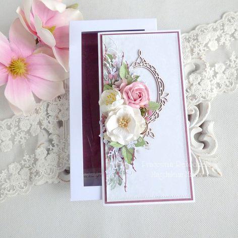 Ślubna kartka w pudełku 214