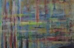 Akryl na płótnie - abstrakcja 3