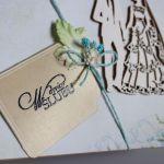 Kartka w dniu ślubu - Napis