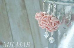Kolczyki z kryształkami Swarovski-Kwiatowe