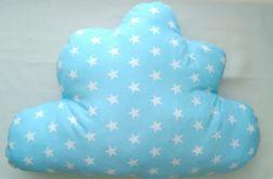 Poduszka CHMURKA  niebieska