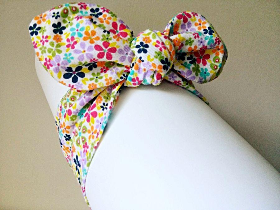 Opaska pin-up w kwiatki dla dziewczynki