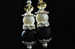 Kolczyki Czarna perła