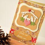 Kartka Bożonarodzeniowa z Sercem 2020 - kartka urodzinowa