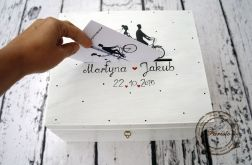 pudełko na karty ślubne