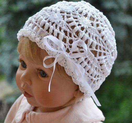 Coś na narodziny -czapeczka i buciki