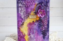 Kalendarz mediowy fioletowy