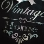Torba bawełniana - vintage