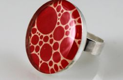 Kropki - pierścionek
