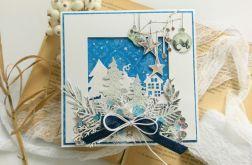 Kartka świąteczna bożonarodzeniowa #3