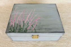 Herbaciarka malowana 6 przeg. - Wrzosy