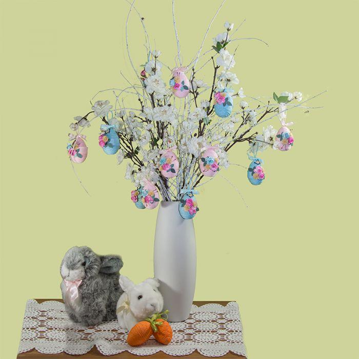 Dekoracja wielkanocna jajka wielkanocne 6 szt