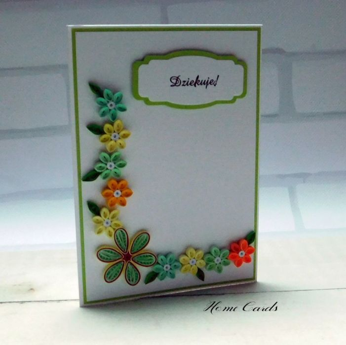 Kartka okolicznościowa Podziękowanie