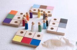 Kolorowe ludziki (mały zestaw)
