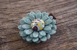 Spinka do włosów kwiatek JESIEŃ 2