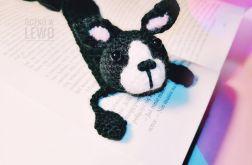Zakładka do książki - Szydełkowa - Pies II