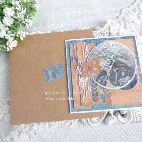 Kartka na 18 urodziny w kopercie 94