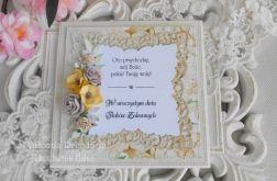 Kartka w pudełku z okazji Ślubów Zakonnych 03