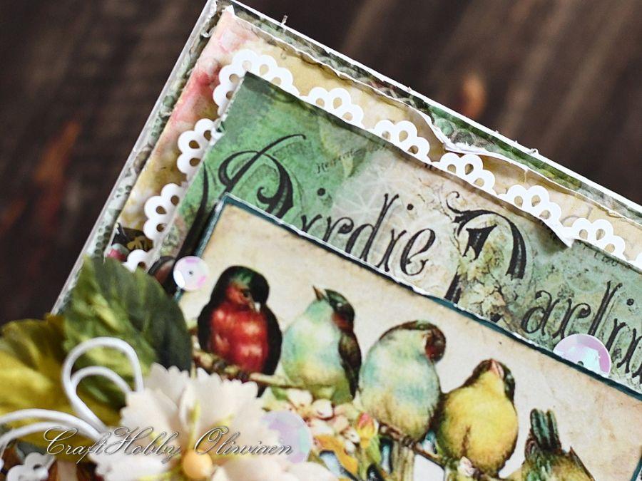 Moc życzeń - ptaszki na gałęzi