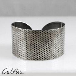 Rybia łuska - metalowa bransoleta 130220-01