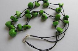 zielone bryłki