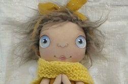 ANIOŁEK lalka - dekoracja tekstylna, OOAK/36