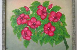 """Obraz """"Ketmia-hibiskus-chińska róża"""""""