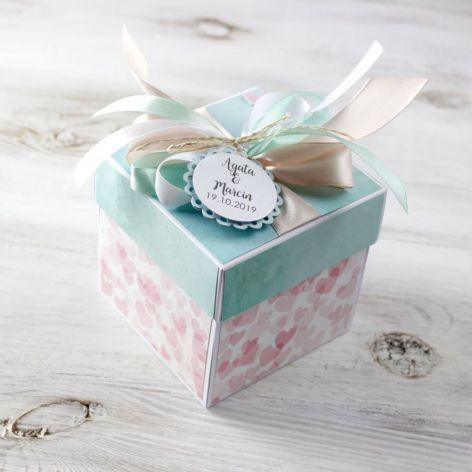 Pudełko - exploding box -ślub 5