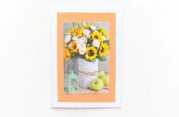 Uniwersalna kartka ze słonecznikami 6