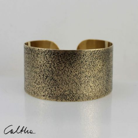 Piasek - mosiężna bransoleta 130301-03
