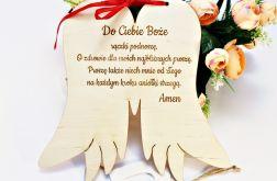 SKRZYDŁA podwójne MODLITWA Aniele Boży