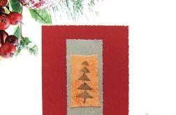 Kartka świąteczna minimalizm 86