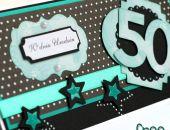 Kartka urodzinowa na 50-tkę