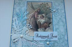 Kartka Boże Narodzenie z aniołem 3