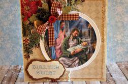 Kartka świąteczna  - Boża Rodzina 2