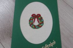 Kartka Boże Narodzenie Wieniec