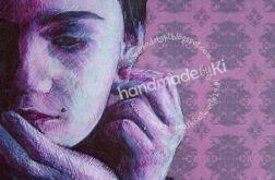 portret - monochromatyczny