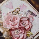 Ślubne obrączki - z ptaszkami - Ślubne obrączki - detal III