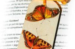Zakładka wiosenna - Motyle