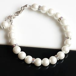 Perły Seashell - bransoletka