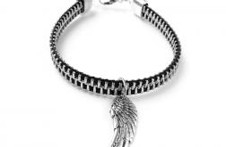 Designerska bransoletka skrzydło anioła