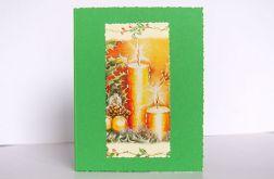 Kartka świąteczna ze świecami 9