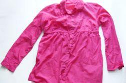 Różowa tunika damska