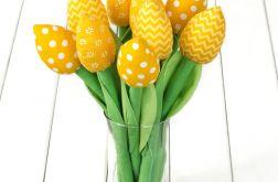 TULIPANY BAWEŁNIANE żółty bukiet