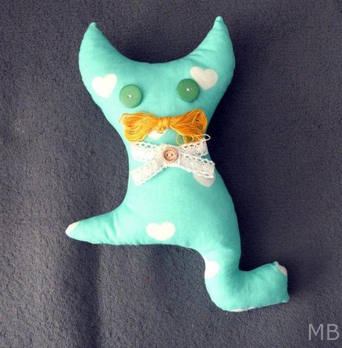 Maskotka Kotek Miętusek