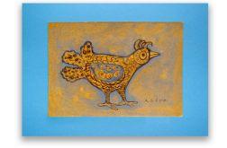 Ptaszek 22 - rysunek dekoracyjny