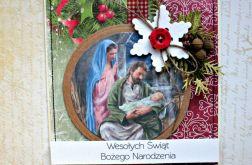 Kartka świąteczna  - Boża Rodzina 9