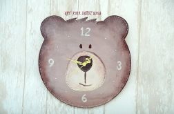 Zegar ścienny LOVELY BEAR