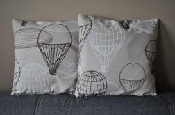 Poszewka dekoracyjna - staromodne balony